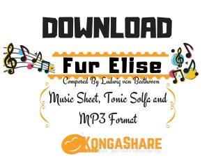 Download Music Sheet Of Fur Elise By Ludwig van Beethoven PDF