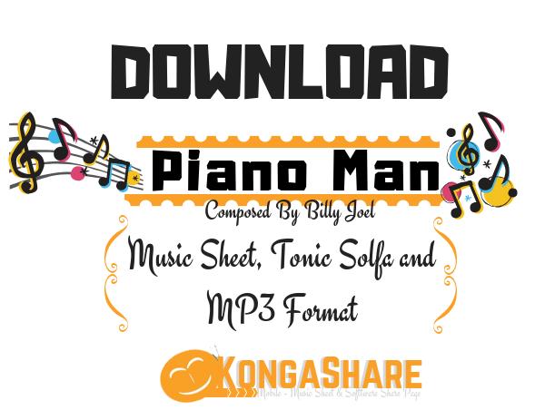 Download Piano Man sheet music