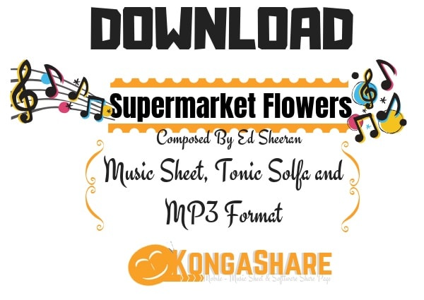 supermarket Flowers Sheet Music