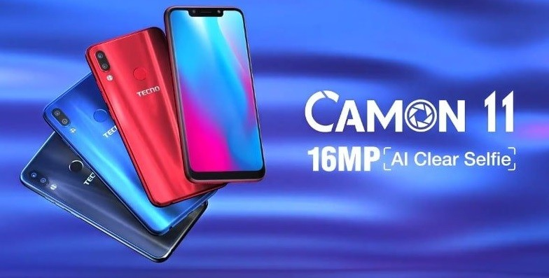 Tecno Camon 11 With Amazing Specification, Review and Price in Nigeria