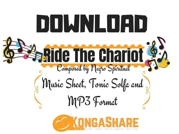 Download Ride The Chariot Sheet Music – Negro Spiritual-min
