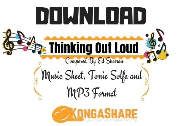 Download Thinking Out Loud Piano Sheet Music