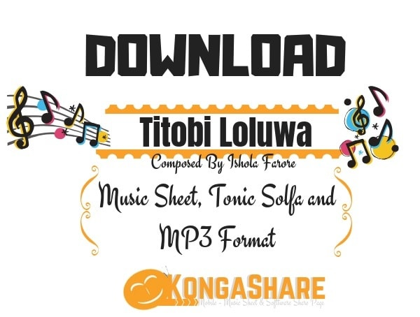 Download Titobi Loluwa Sheet Music for Piano kongashare.com..-min