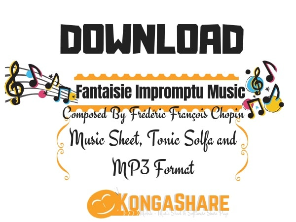 Download Fantaisie Impromptu Sheet Music Op.66 chopin by Frédéric Chopin