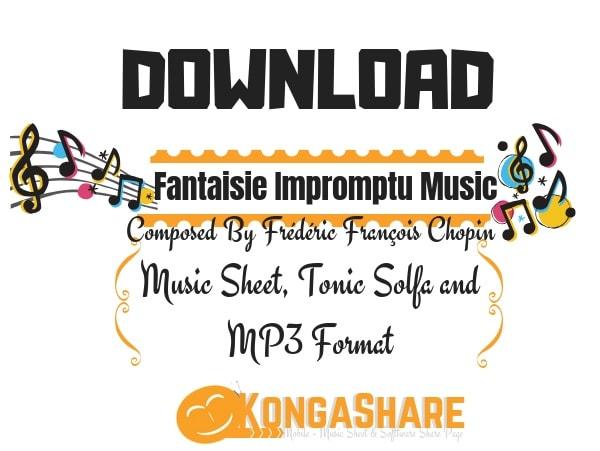 Download Fantaisie Impromptu Sheet Music Op.66 chopin by Frédéric Chopin