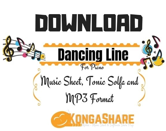 Download Free Dancing Line Sheet Music for Piano