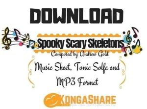 Download Spooky Scary Skeletons sheet music