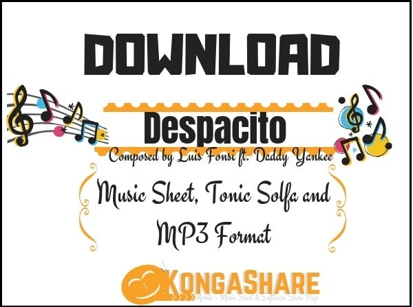 Download Despacito piano sheet music - Luis Fonsi ft. Daddy Yankee kongashare.com..-min.jpg