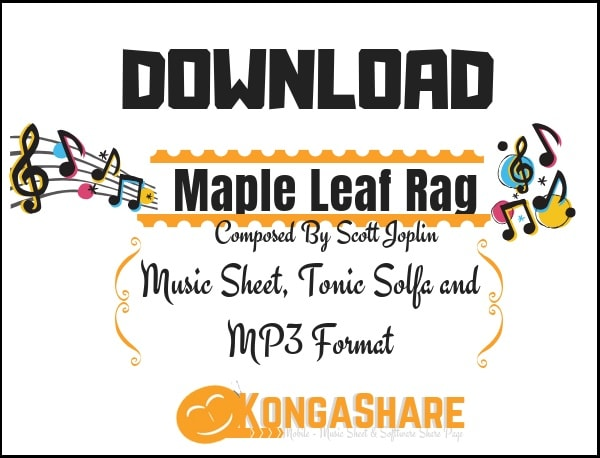 maple leaf rag sheet music in PDF and MP3