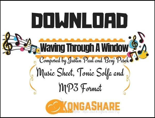 Waving Through A Window sheet music in PDF and MP3_ kongashare.com_m.jpg