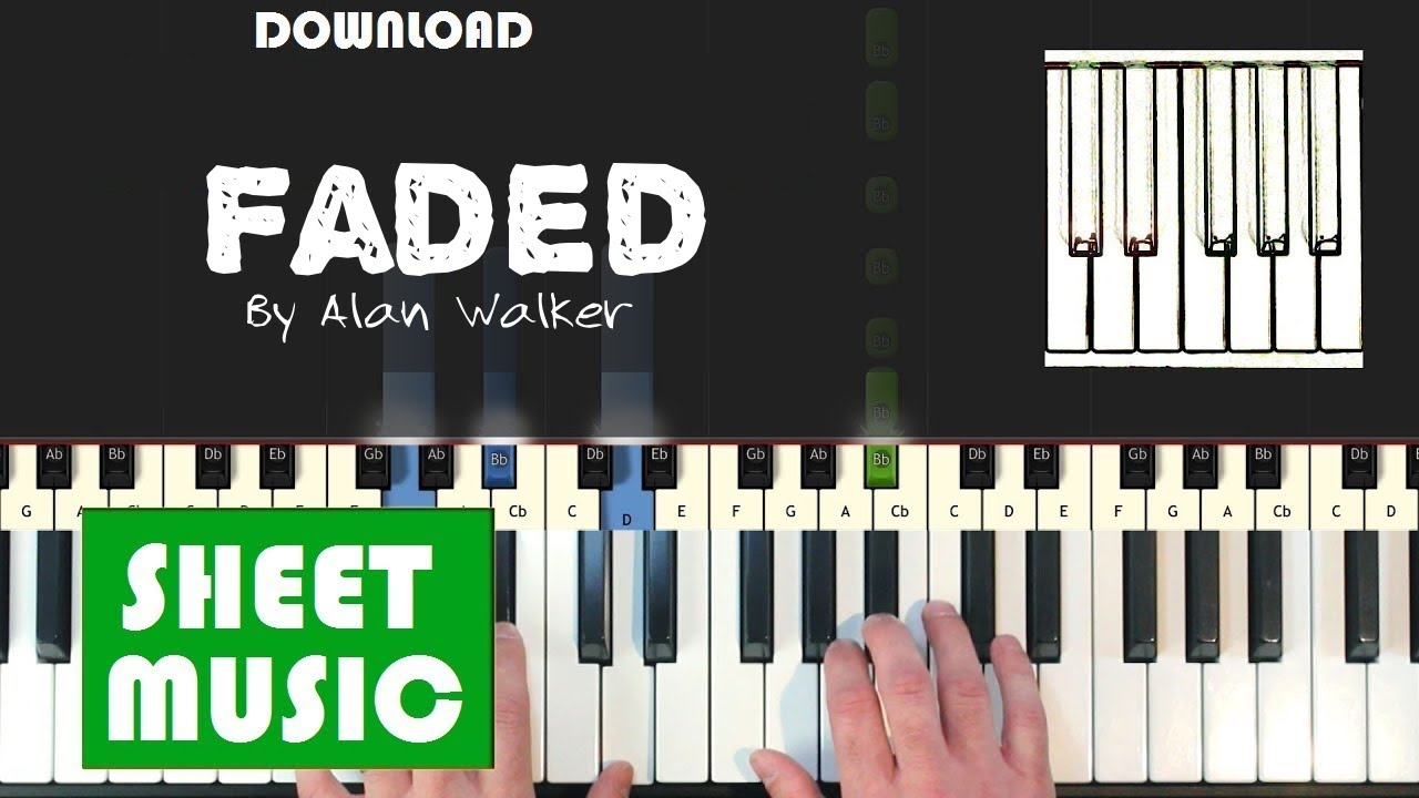 Roblox Piano Songs Faded