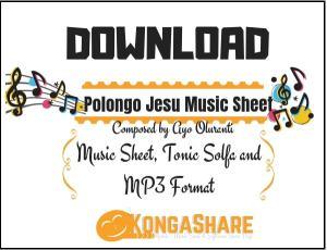 Download polongo jesu sheet music by ayo oluranti in PDF and MP3_ kongashare.com_m-min.jpg