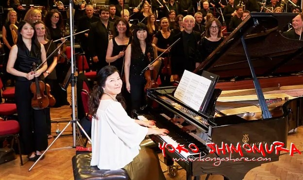 Dearly beloved sheet music - Yoko Shimomura Biography