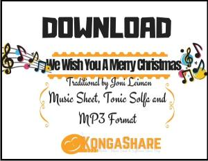 We Wish You A Merry Christmas Variations sheet music by Joni Leiman