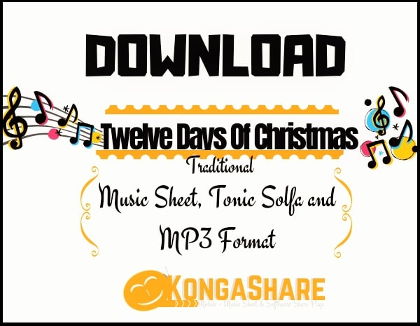 Twelve Days Of Christmas sheet music