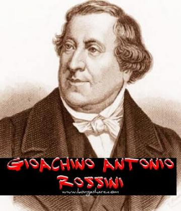 I Will Give Thanks Unto Thee sheet music - Rossini biography
