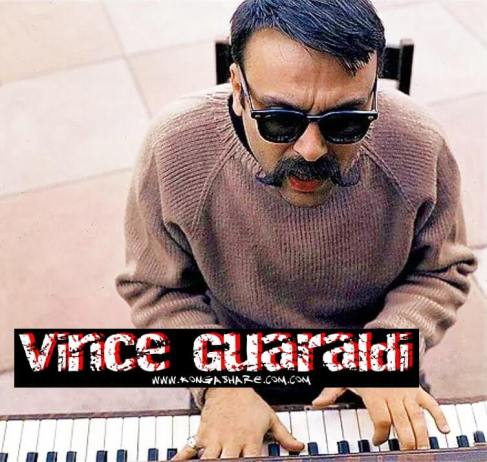 Linus and Lucy sheet music_Vince Guaraldi picture_kongashare-min (1)