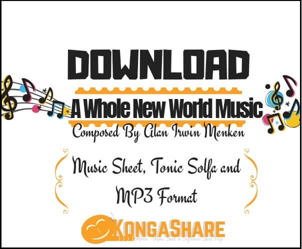 Download A Whole New World Sheet Music_kongashare.com_mm