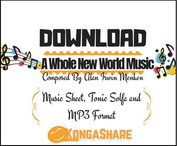 Download A Whole New World Sheet Music_kongashare.com_mm