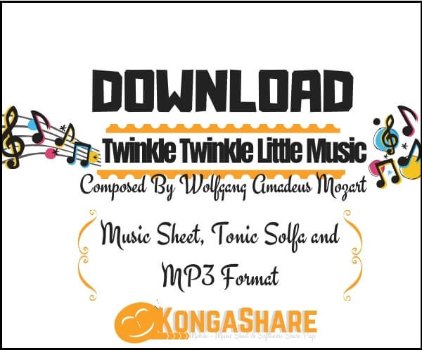 Twinkle Twinkle Little Star sheet music