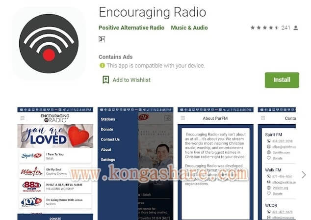 Free Christian Music Apps on Google Play in 2020 - Encouraging Radio App Picture_kongashare.com_mmn