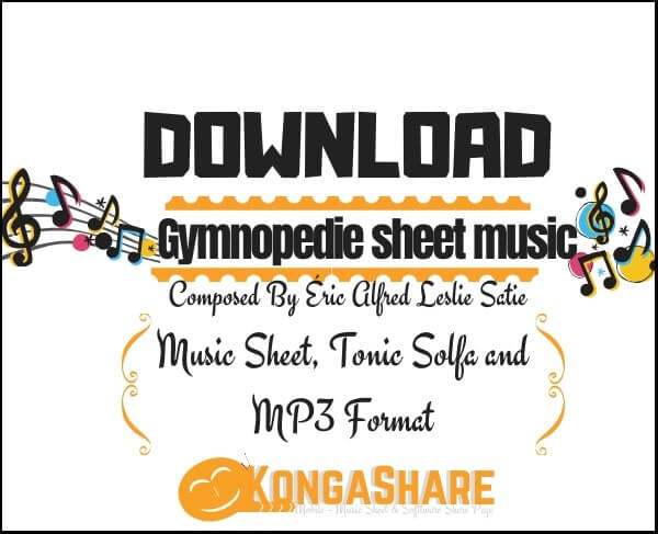 Download Gymnopedie sheet music _kongashare.com_score