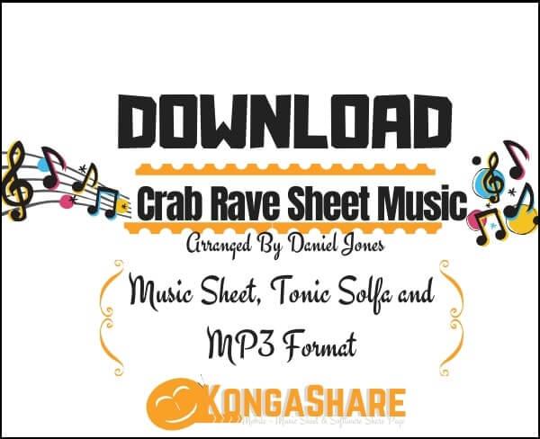 Crab Rave Roblox ID - Crab Rave Sheet Music _kongashare.com_score-min