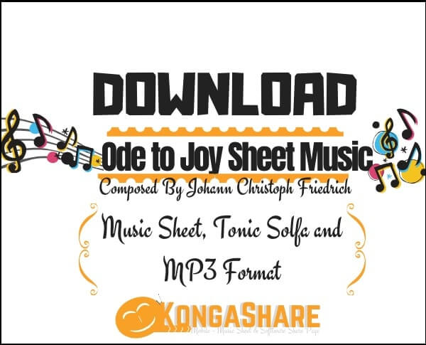 Download Ode to Joy sheet music _kongashare.com_score