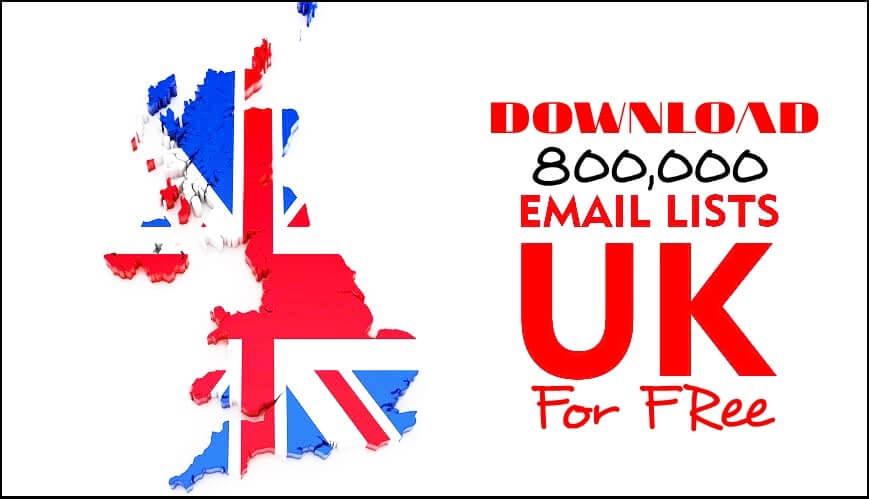 Free 800000 Fresh UK Email List 2020_kongashare.com_n