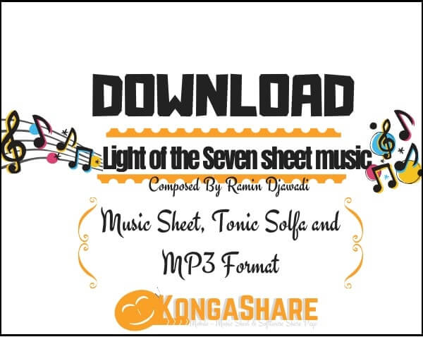 Light of the Seven sheet music_kongashare.com_mm