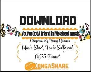 You've Got A Friend in Me sheet music_kongashare.com_mv