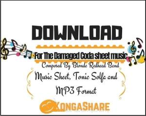 For The Damaged Coda sheet music_kongashare.com_mx