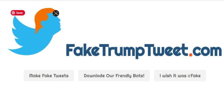 Top 5 Fake Tweet Generator Tools - Fake Trump Tweet_kongashare.com_n