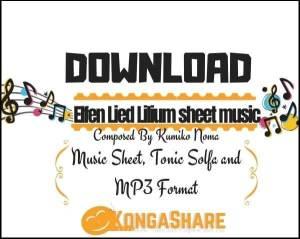 Elfen Lied Lilium sheet music pdf midi_kongashare.com_mr