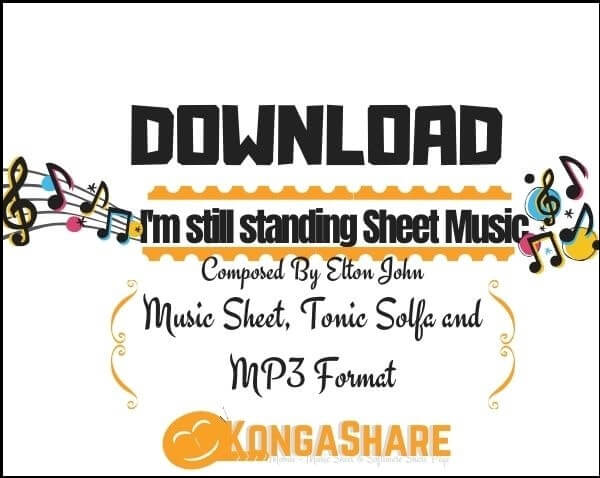 I'm still standing Sheet Music pdf midi_kongashare.com_mn