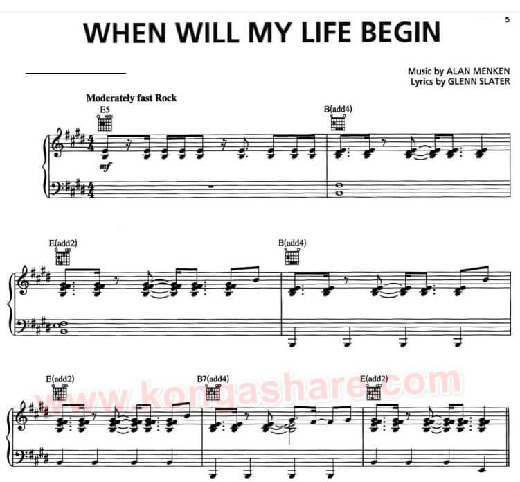 when will my life begin sheet music_kongashare.com_nx