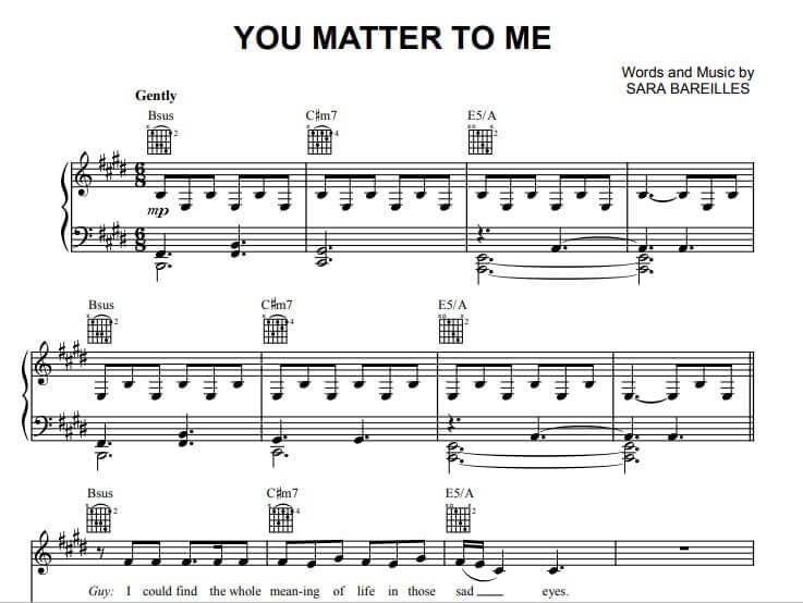 you matter to me sheet music for piano_kongashare.com_mn