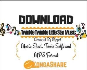 download Twinkle Twinkle Little Star Piano sheet music_pdf_midi_kongashare.com_mz