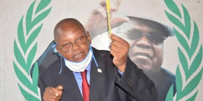 Adrien-Simon Kalenga - porte-parole a.i et secrétaire national en charge de la communication de l'UDPS.