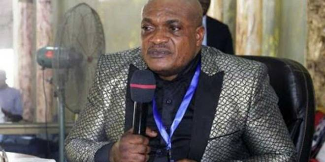 Évêque Pascal Mukuna, ses ébats sexuels ont été expose sur les réseaux sociaux.