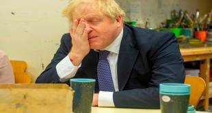 Boris JOHNSON, premier ministre britannique, un survivor du Covid-19.