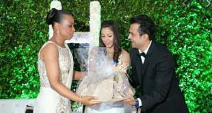 """Olive-Lembe """"KABILA"""" et le couple libanais Harish Jagtani, accusé de détournement de fonds et corruption averée en RDC."""