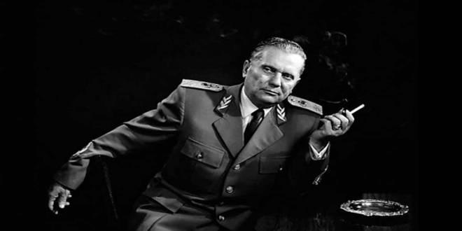 Josip Broz Tito, ancient President et révolutionnaire de l'ex-yougoslavie.