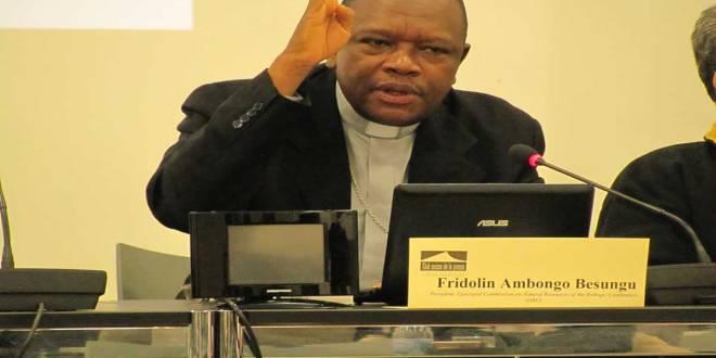 Cardinal Fridolin Ambongo de la RDC.