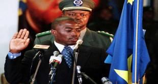 """Joseph KABILA"", prestation de serment, Kinshasa, 2001."