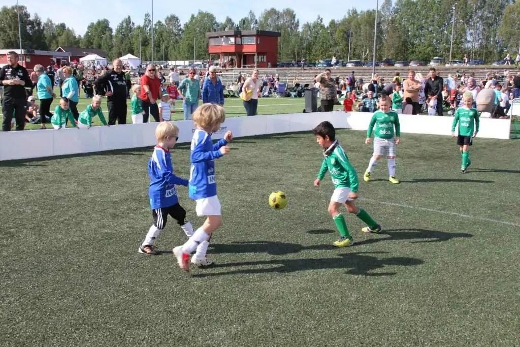3-er fotball engasjerer mange.