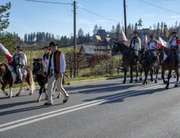 Obchody 100-lecia niepodległości w Bukowinie Tatrzańskiej