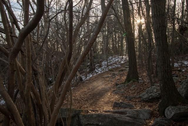 Hawk Mountain Sanctuary in Pennsylvania