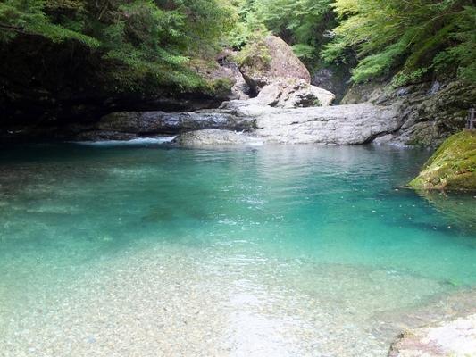 御手洗渓谷 奈良
