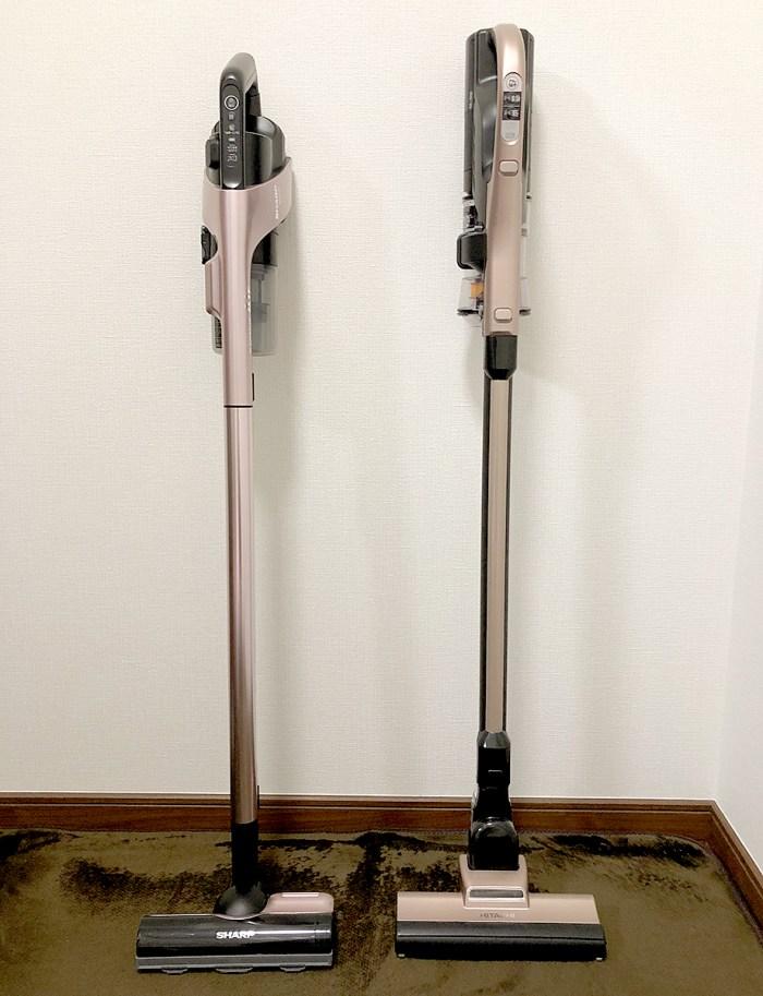 日立とシャープ掃除機比較